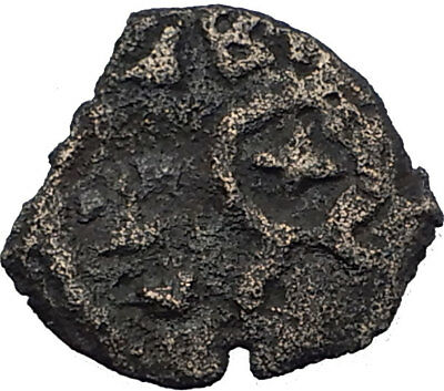 HEROD I the GREAT 40BC Jerusalem Authentic Ancient BIBLICAL Greek Coin i64150