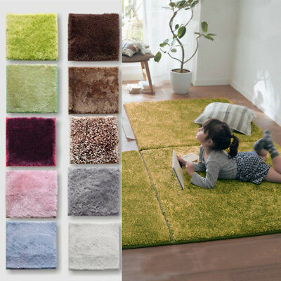 Soft Plush Rugs Anti-Skid Area Dining Room Home Bedroom Carpet Floor Mat Decor