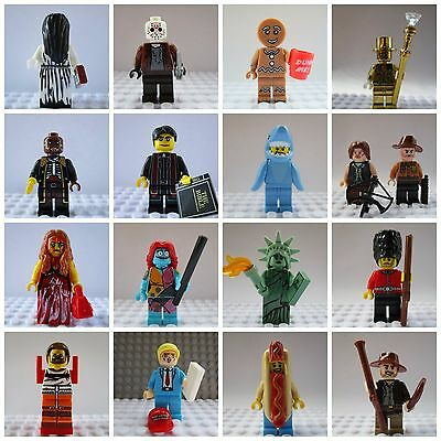 Movie,City,Walking Dead,LEGO,City Horror,Tv,Marvel,Super Heroes Mini Figures