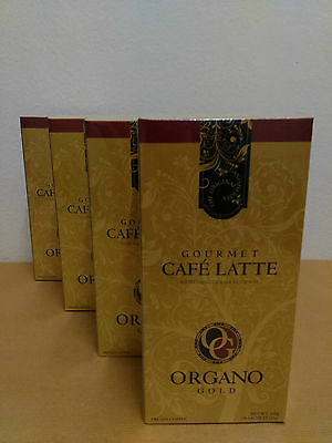 4 Boxes Organo Gold Cafe Latte With Ganoderma Lucidum