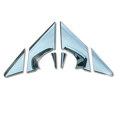 Autoclover Chrome Side Rear Mirror Bracket Molding Cover 08+ Holden Cruze N_o