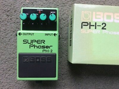 Boss PH-2 Super Phaser Vintage phase shifter superb condition