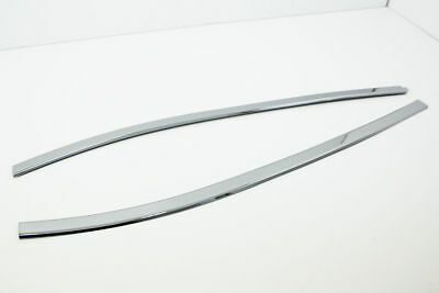 Autoclover Chrome Rear/Tail Gate Window Glass Molding Cover for 07+ i800/H-1 N_o