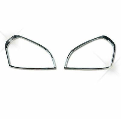 Autoclover Chrome Headlight Lamp Molding Trim Cover for Hyundai 05-09 Tucson N_o