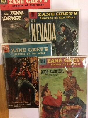 Zane Grey, Stories of the West - multiple issues