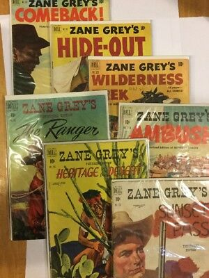 Zane Grey, Picturized Editions - multiple issues
