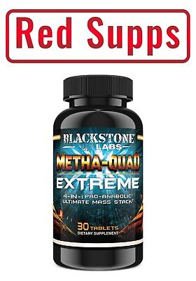 Blackstone Labs METHAQUAD 30 tablets The Most Powerful Anabolic Stack Available!