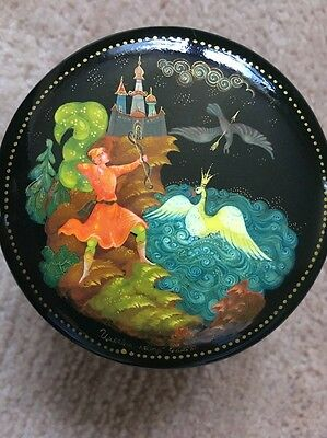 Russische Lackdose, Palekh, russian lacquer box
