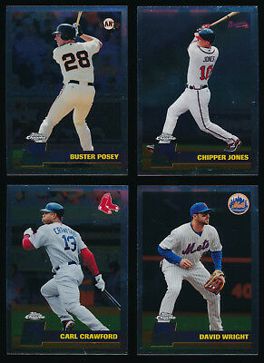 2011 Topps Chrome Vintage Chrome BB - You Pick Complete Your Set (A02)