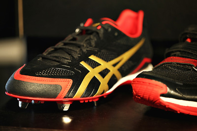 ASICS Baseball Shoes SFSA07 9094 Base Burner Red Bee series - Authentic