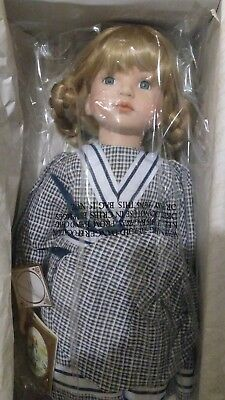 Cecilie - Alberon Porcelain Doll - New / Boxed - Xmas present or Halloween prop