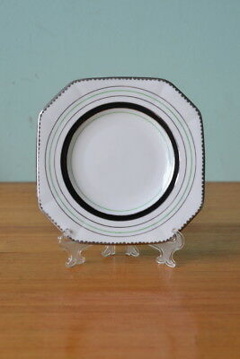 Vintage fine china saucer / plate Plant Tuscan reg 780986