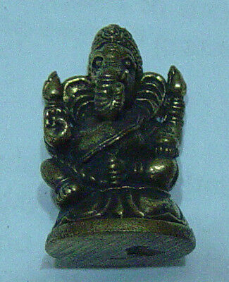 Ganesha  brass bronze molded sculpture