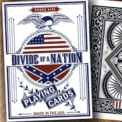 Bicycle Divide of A Nation Playing Cards from Murphy's Magic