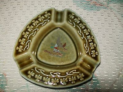 VINTAGE 'IRISH PORCELAIN' ASHTRAY (2 flying ducks design)
