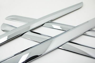 Autoclover Chrome Side Skirt Molding Trim Cover for Kia 11+ Sorento Sorento N_o