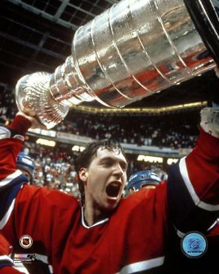 Patrick Roy Licensed 8X10 Photo MONTREAL CANADIENS 1986 Stanley Cup Champions