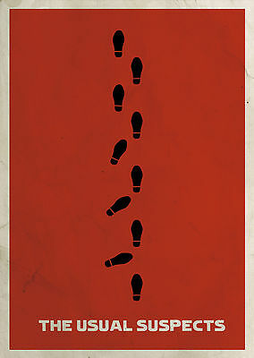 The Usual Suspects (1995) - A2 A3 A4 POSTER ***LATEST BUY 1 GET 1 FREE OFFER***