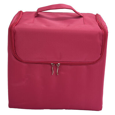 SS Makeup Professional Storage Beauty Box Travel Cosmetic Organizer Carry Case r