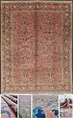 OLD SARUK SAROUK SAROUGH MANCHESTER WOOL PERFECT PRESERVED cm. 345 x 262