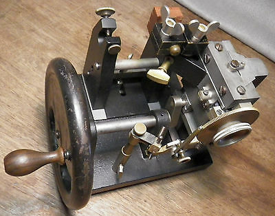 Zimmermann Microtome ca1910 Museum Piece