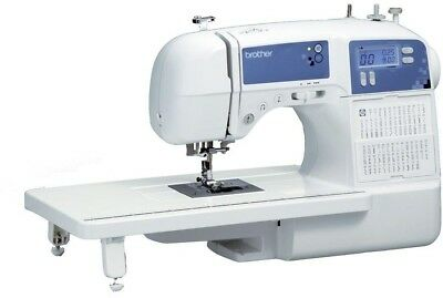 Sewing Machine 100 Stitch Embroidery Designs Auto Size Buttonholes Needle System