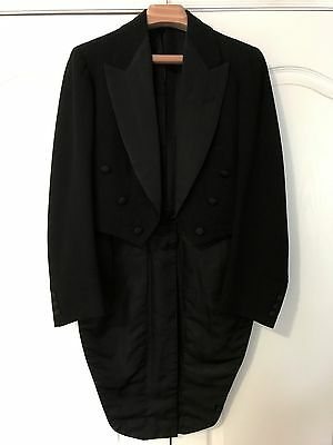 JOKER COSPLAY/Costume - Vintage 1927 E. TAUTZ Black Tail Coat - 36R