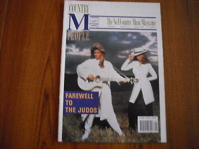 Country Music People - Magazine - January 1992 - The Judds