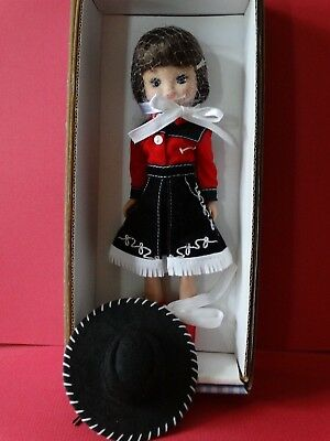 """Tiny Betsy McCall 8"""" doll by Robert Tonner Cowgirl NRFB  +++BEAUTIFUL+++"""