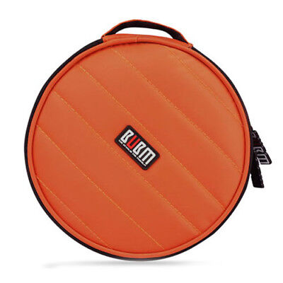 SS BUBM 32 Capacity CD / DVD bag 230D Space Twill Cover round shockproof Orange