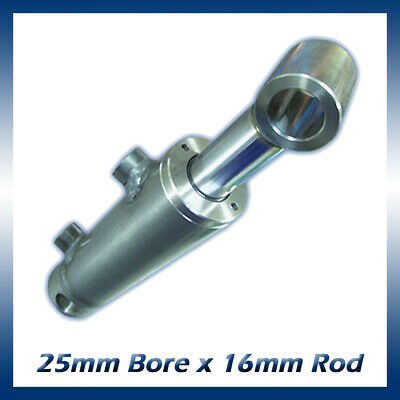 Hydraulic Double Acting Cylinder / Ram / Actuator 25mm Bore x 16mm Rod