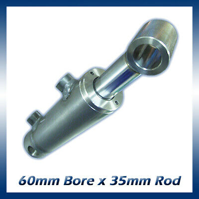 Hydraulic Double Acting Cylinder / Ram / Actuator 60mm Bore x 35mm Rod