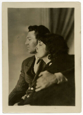 Silent Film Star Estelle Taylor & Jack Dempsey Vintage Charles Sheldon Photo