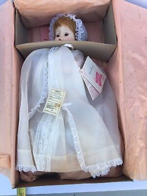 Madame Alexander Sweet Tears Doll  with Original Box and Christening Dress 1965