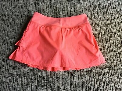 Ivivva  'Set The Pace' Skirt By Lululemon - Girls Size 12 - GRPF - NWT
