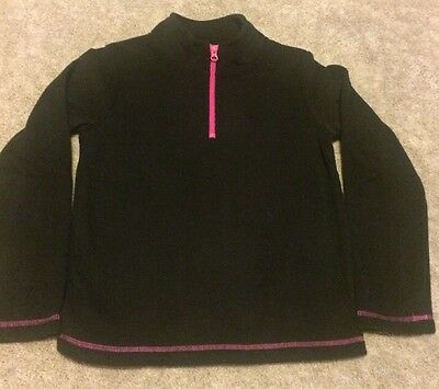Girls Youth Quarter Zip Fleece Shirt Size L 10-12 NWT LOWEST PRICE EVER!!!