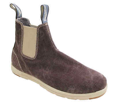 Blundstone 1427 Canvas Pull Up Boots Brown