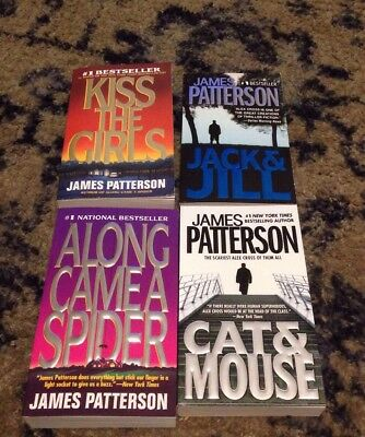 Lot of first 4 Alex Cross Series Books James Patterson Brand New paperback