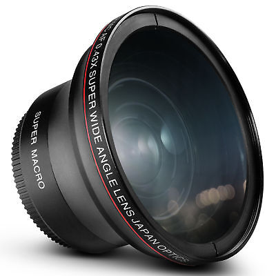 Altura Photo庐 58MM .43x Wide Angle Lens with Macro for Canon Rebel T6i T5i T3i