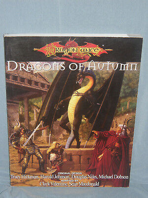 D&D Dragonlance WAR OF THE LANCE VOL1 DRAGONS OF AUTUMN (Very Rare & Near Mint!)