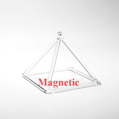 """Magnetic Musical Instrument Random Note Crystal Singing Pyramid 8"""""""