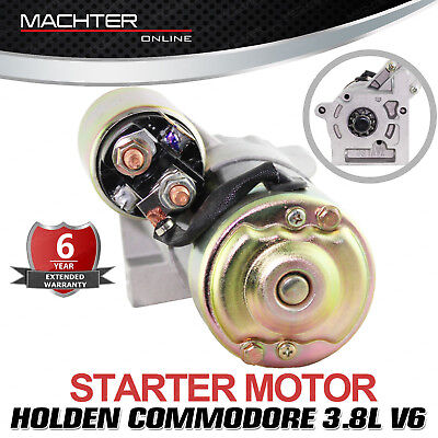 Machter Starter Motor for Holden Commodore 3.8L V6 Manual VN VP VR VS VT VX VY