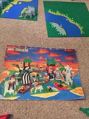 Lego System 6278 Enchanted Island Instructions / Manual 1994