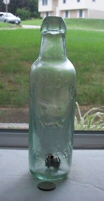 Picturial Blob Top Bullet Stopper Soda Embossed,laycocks Chester(Loin)