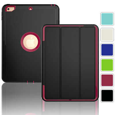 Hybrid Shockproof Stand Smart Cover Case For iPad 9.7 2017 5th Gen A1822 A1823