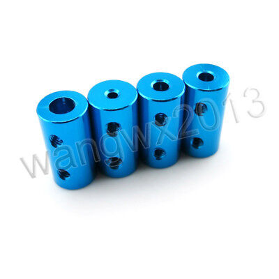 1mm-6mm Motor Transmission Shaft Coupling Rigid Coupler Connector Sleeve D10L20