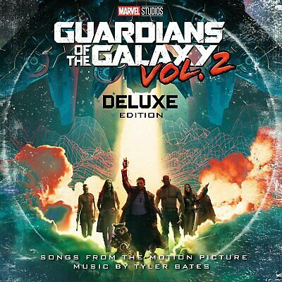 Guardians Of The Galaxy 2 Awesome Mix soundtrack / score deluxe vinyl 2 LP gatef