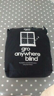 Gro Anywhere Travel Blackout Blind with stars pattern, max window 200 x 130cm