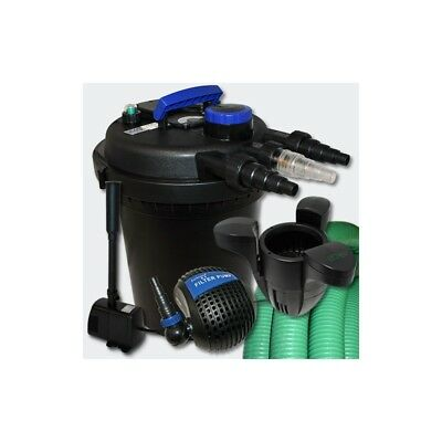Kit de Filtration à Pression 6000l UVC 11W Pompe Fontaine Ecumeur 30 Helloshop2