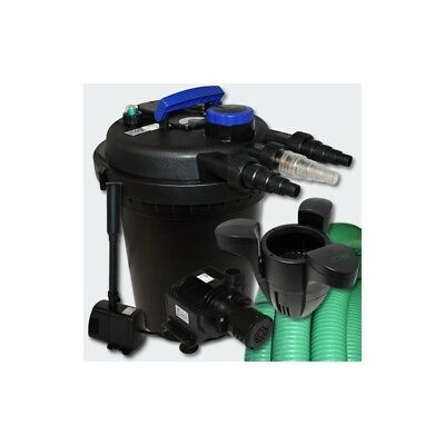 Kit de Filtration à Pression 6000l UVC 11W Pompe Ecumeur 40 Fontaine Helloshop2